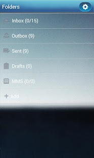 GO SMS Pro GlassBox Theme - screenshot thumbnail