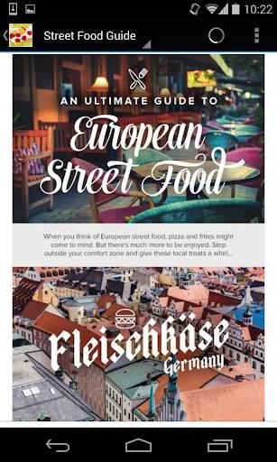 Street Food Guide in Europe