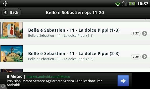 Belle e Sebastien- screenshot thumbnail
