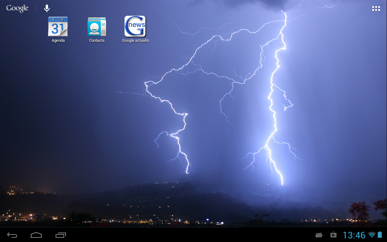 Storm (Live wallpaper)- screenshot
