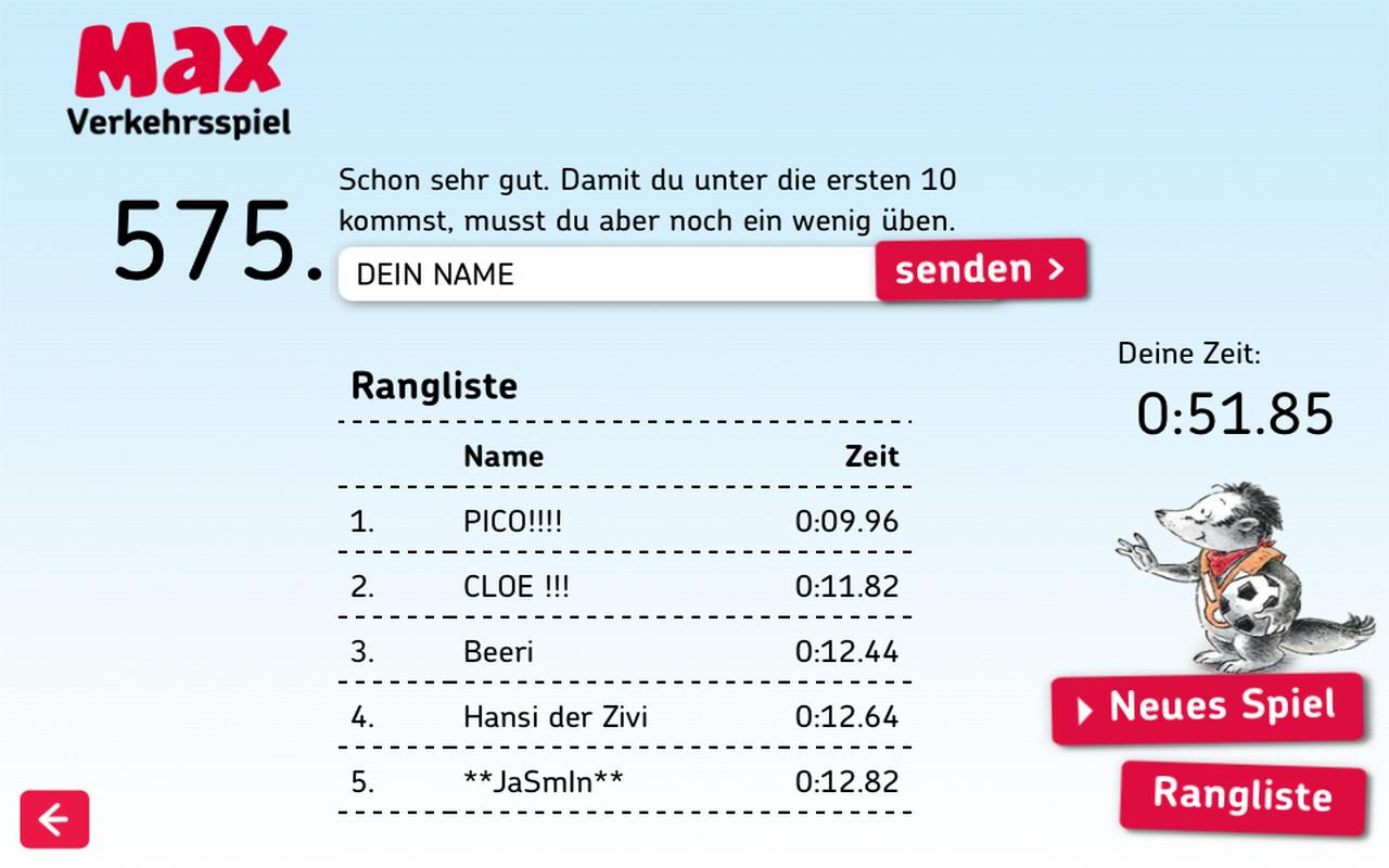Max der Dachs- screenshot