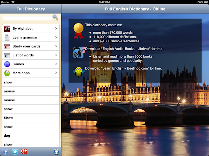 English Dictionary - Premium- screenshot thumbnail