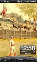 Screenshot of Baseball 1880 Live Wallpaper