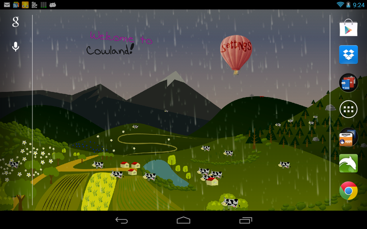 Cartoon Live Wallpaper- screenshot