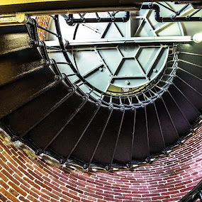 Inside Heceta Head by Don Saddler - Buildings & Architecture Architectural Detail ( oregon, heceta head, lighthouse,  )
