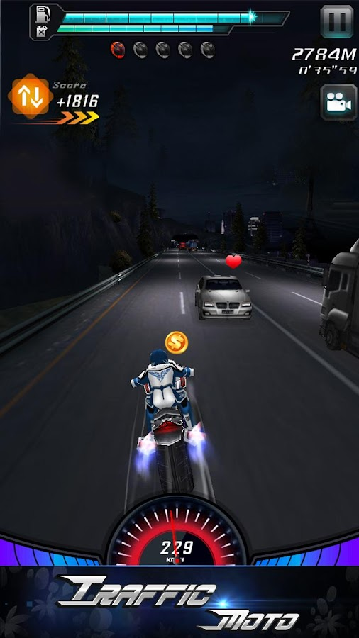 Traffic Moto - screenshot