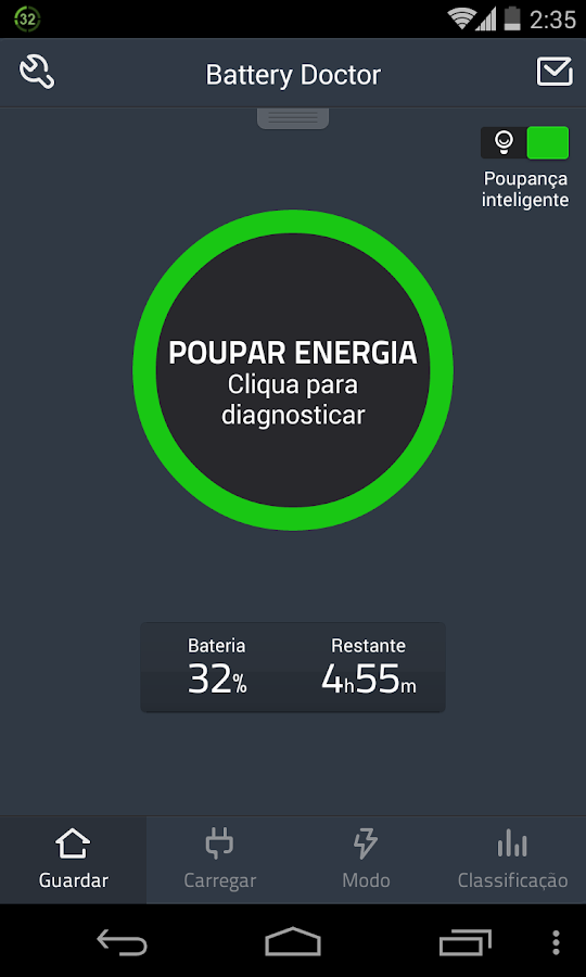 Battery Doctor(Battery Saver): captura de tela