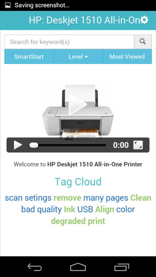 Showhow2 for HP Deskjet 1510