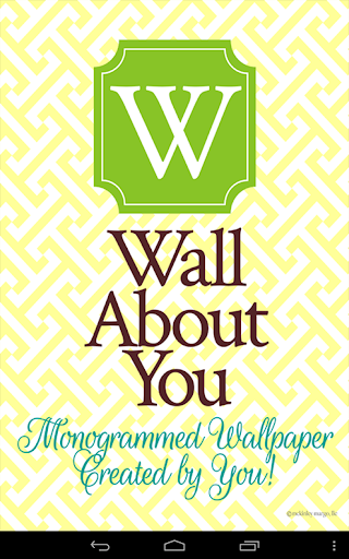 Wall About You - Monograms
