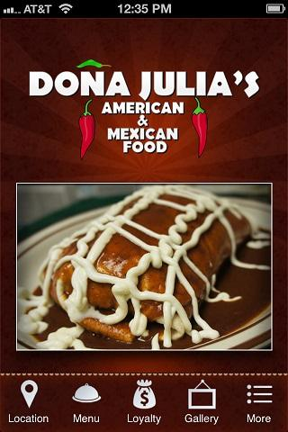 Dona Julias Mexican Restaurant