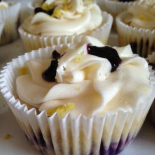Blueberry Lemonade Cupcakes