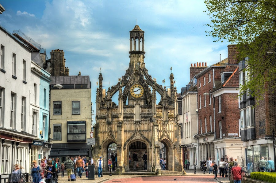 chichester town by Nick Wastie - Buildings & Architecture Public & Historical