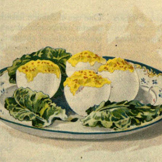 Classic Stuffed Eggs With Salmon Filling