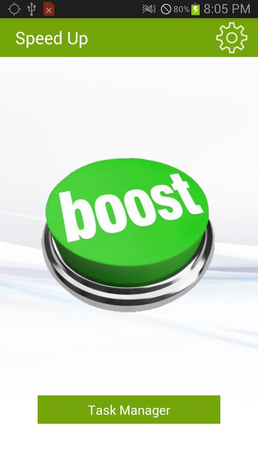 Speed booster + memory cleaner - screenshot