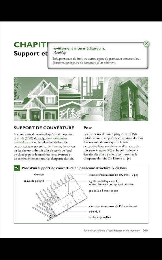 Construction de maison canada applications android sur for Application ipad construction maison