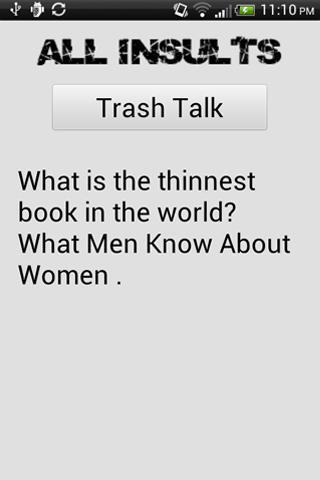 Trash Talk- screenshot