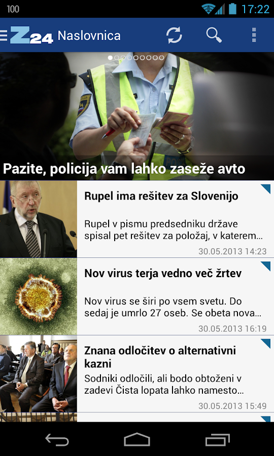 Zurnal24 - screenshot