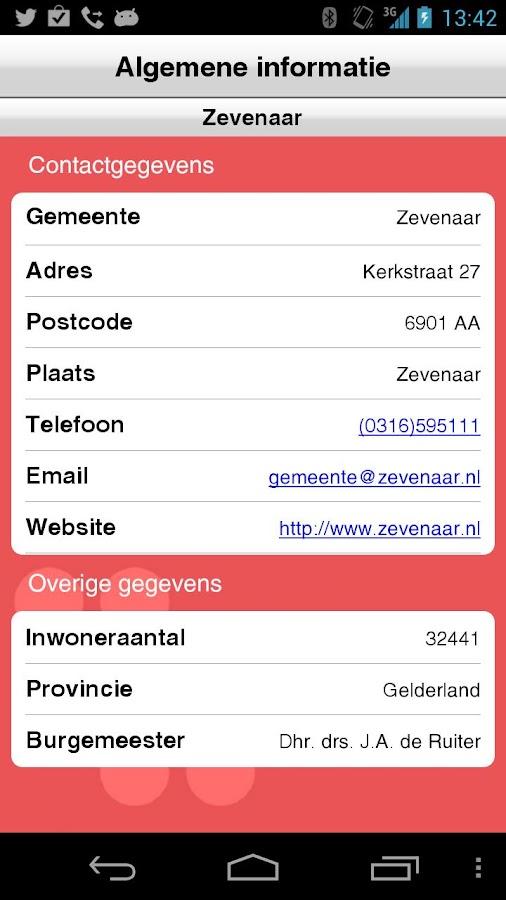 Zevenaar- screenshot
