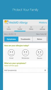 WebMD Allergy - screenshot thumbnail