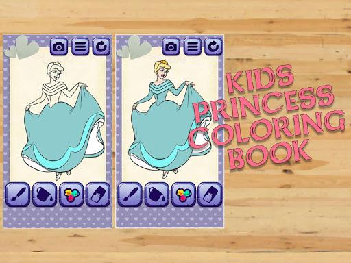 Kids Princess Coloring Book