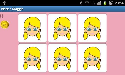 休閒必備免費app推薦|Dress up doll Maggie線上免付費app下載|3C達人阿輝的APP