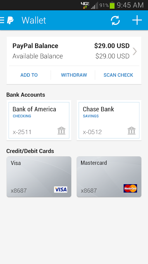 PayPal- screenshot