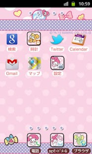 SANRIO CHARACTERS Theme43- screenshot thumbnail