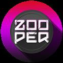 L concept clock zooper