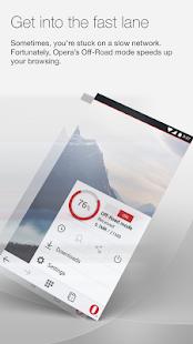 Opera browser beta - screenshot thumbnail