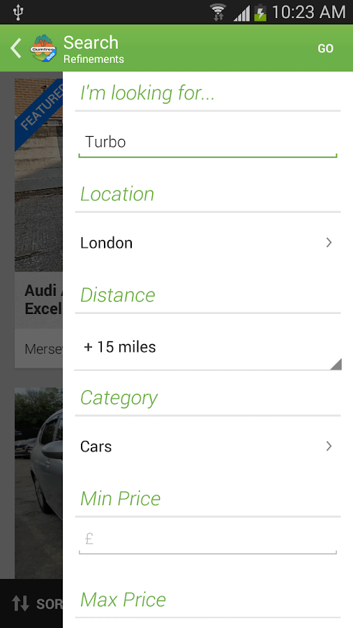 Gumtree Beta - screenshot