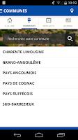 Screenshot of Charente Libre