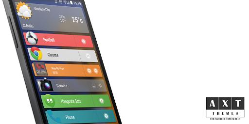 Zooper HD Apps Bar