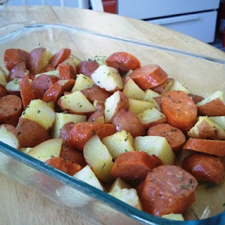 Kielbasa and Potatoes