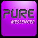 Pure messenger widget icon