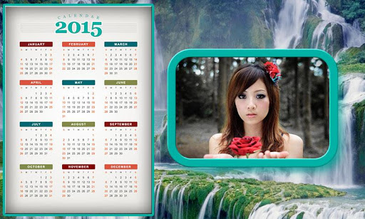 My Calender Photo Frames 2015