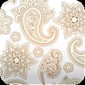 elegant paisley wallpaper 39 icon