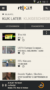 RTL XL - screenshot thumbnail