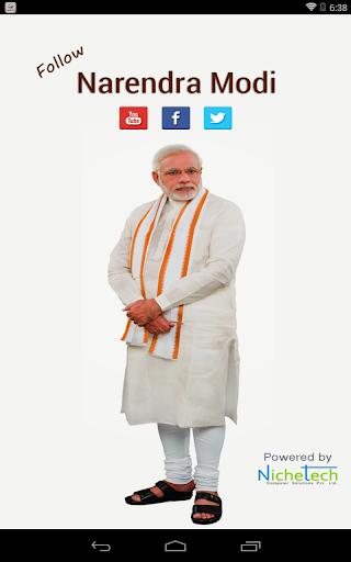 Follow Narendra Modi