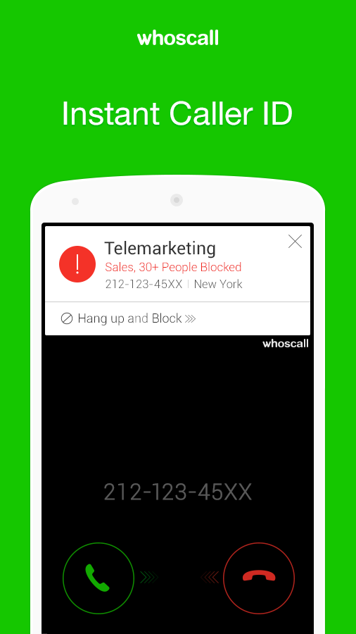 Whoscall- Caller ID&Block - screenshot