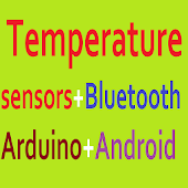 Thermometer Bluetooth Arduino