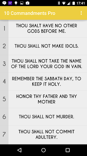 10 Commandments Pro
