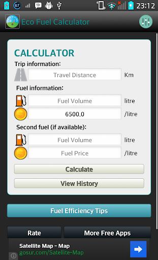 Eco Fuel Calculator