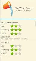 Screenshot of Zodiac Love Horsocope