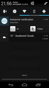 GDG Widgets and Notifications- screenshot thumbnail