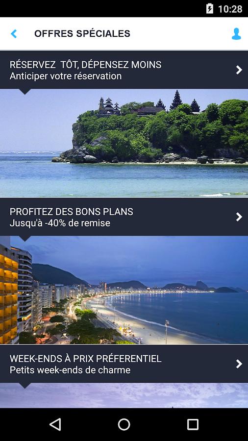 Accorhotels.com réservation - screenshot