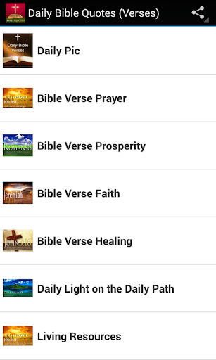 Daily Bible Quotes Verses