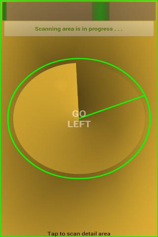 Gold Detector Radar - screenshot