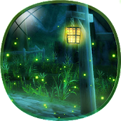 Cute Fireflies Live Wallpaper