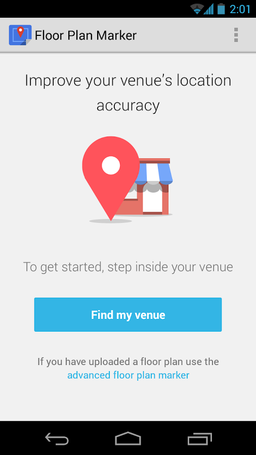 Google Maps Floor Plan Marker - screenshot