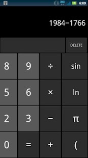 ICS Calculator (Ad-free) - screenshot thumbnail